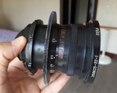 (已出)罕见的 22/1.4 LOMO 电影镜头 编号870008