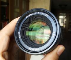 (已出)徕卡Leica Summilux-R 50/ 1.4 ROM E60版