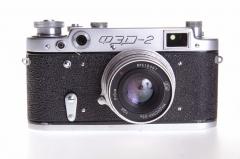 FED-2 费特2苏联L39旁轴 含皮套 Industar-26