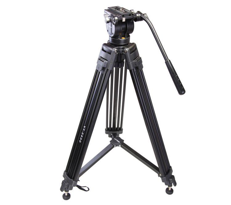 包邮 劲捷VT-2500摄影摄像三脚架铝合金三脚架承重能力强稳定性好