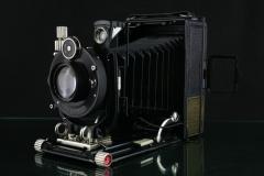 18271---好成色福伦达6X9干板相机 海利尔镜头带120后背