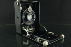 18287---极品带包装海利尔镜头 福伦达6X9干板相机