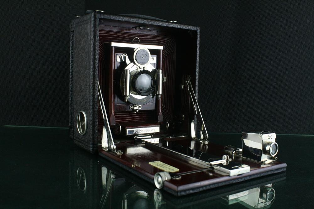 18300---罕见极品成色PREMO 4X5百年古典大画幅相机