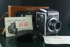 18309---罕见的英国科菲尔德66 中画幅单反相机一大套
