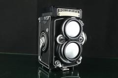 18319---经典好成色的rolleiflex 2.8E双反相机