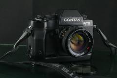 18321---经典的CONTAX RTS III单反套机