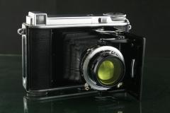 19003---经典的福伦达BESSA 66 海利尔镜头折叠相机
