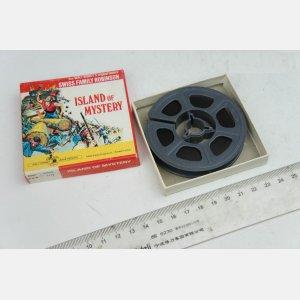八毫米家庭电影胶片,神秘岛,迪斯尼出品,库存品。