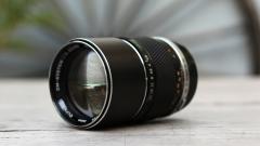 奥林巴斯135mm/f2.8镜头
