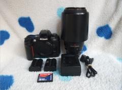 尼康 80-400 镜头+尼康 D100,3180--3380元包顺丰