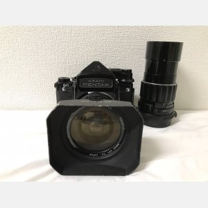 宾得Pentax 6X7 67相机55F3.5 200F4带测光顶 反光板预升