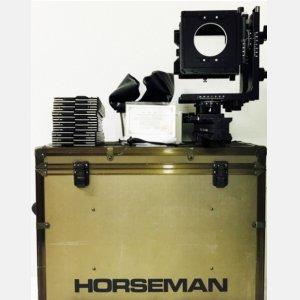 骑士horseman L45 4X5 单轨 大画幅相机 含配件