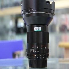0274#蔡司  21mm f/2.8 ZE ZF.2 镜头  广角定焦 单反,成色新