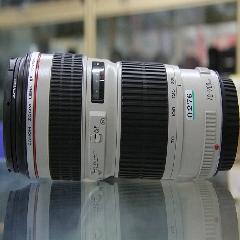 0276#佳能 70-200mm F4 小小白变焦长焦单反镜头 摄影器材出租