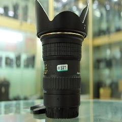 0127#图丽11-16mm f2.899新超广角大光圈镜头前后盖,原装遮光罩