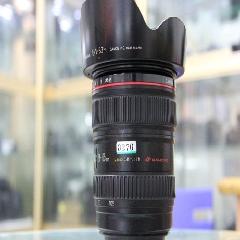 0270#佳能24-105mm f4L红圈标准变焦 镜头,成色新