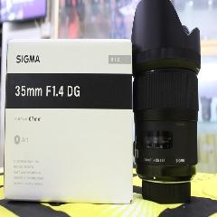 0606#Sigma/适马 35mm f/1.4 DG HSM 广角定焦镜头