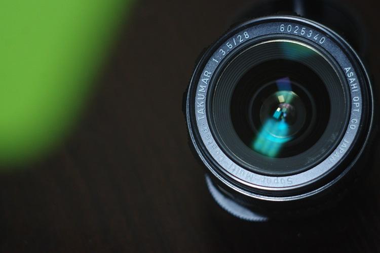 530包邮送UV九成新宾得太苦玛TAKUMAR广角定焦SMC28mm/3.5.成色良好,M42口