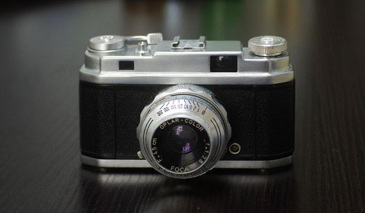 365包邮,9成新法国佛卡相机FOCA SPORT II+4.5CM/2.8镜头