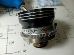 9成新左右德国恩娜ENNA LITHAGON 白银镜头35MM/3.5,DKL口,成像优秀