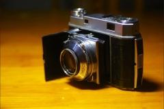 (故障机)德国施耐德 红三角50MM/2.0+柯达雷丁娜KODAK RETINA II相机