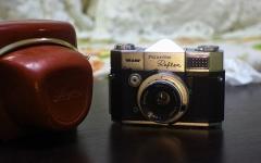德国布朗单反相机BRAUN PAXETTE REFLEX ,配ENNA50/2.8镜头(定制)