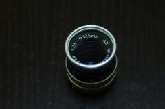 瑞士科恩电影镜头KERN 12.5mm/2.5,D口,D口,关联宾得Q相机