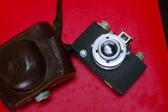(稀有)法国SEMBABYI旁轴相机+CROSS45mm/2.9(安琴代工)镜头,可以拍摄