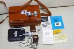 (全套)柯达KODAK 电影机,一机三镜,原装皮箱,说明书,测光表
