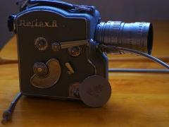 868元,法国安琴(爱展能)9-36mm/1.8+法国CAMEX 电影机,正常动作