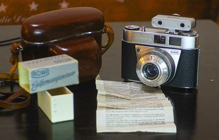 650元送测距仪,柯达KODAK retina RETINETTE IA旁轴相机,原装皮套
