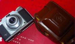 德国AGFA Silette旁轴相机,带原厂皮套,镜片良好