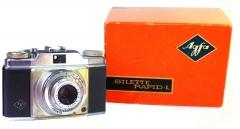 350元德国AGFA Silette旁轴相机,带原厂包装纸盒,镜片良好