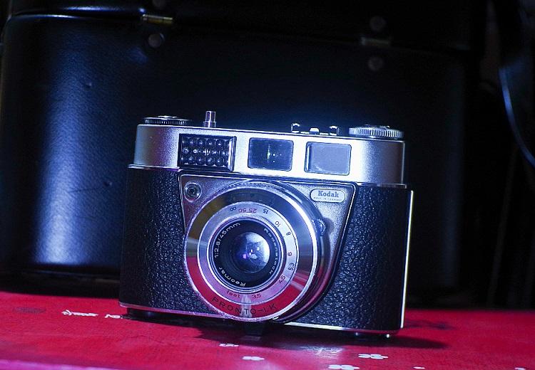 498元成色良好罗敦RODENSTOCK45mm/2.8+柯达Retinette IB旁轴相机