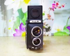 3800元成色良好法国Sem Semflex Studio 150EX 双反,镜片良好,人像风景良机