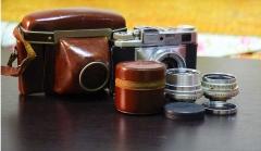 1880元施耐德Radiogon35/4.0+海尔50mm/2.8(VT口)+BRAUN IIB相机