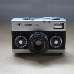 禄莱 Rollei35 银色 德产 旁轴机