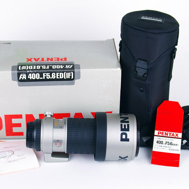 *收藏级* 极稀少PENTAX FA* 400 F5.6 ED(IF