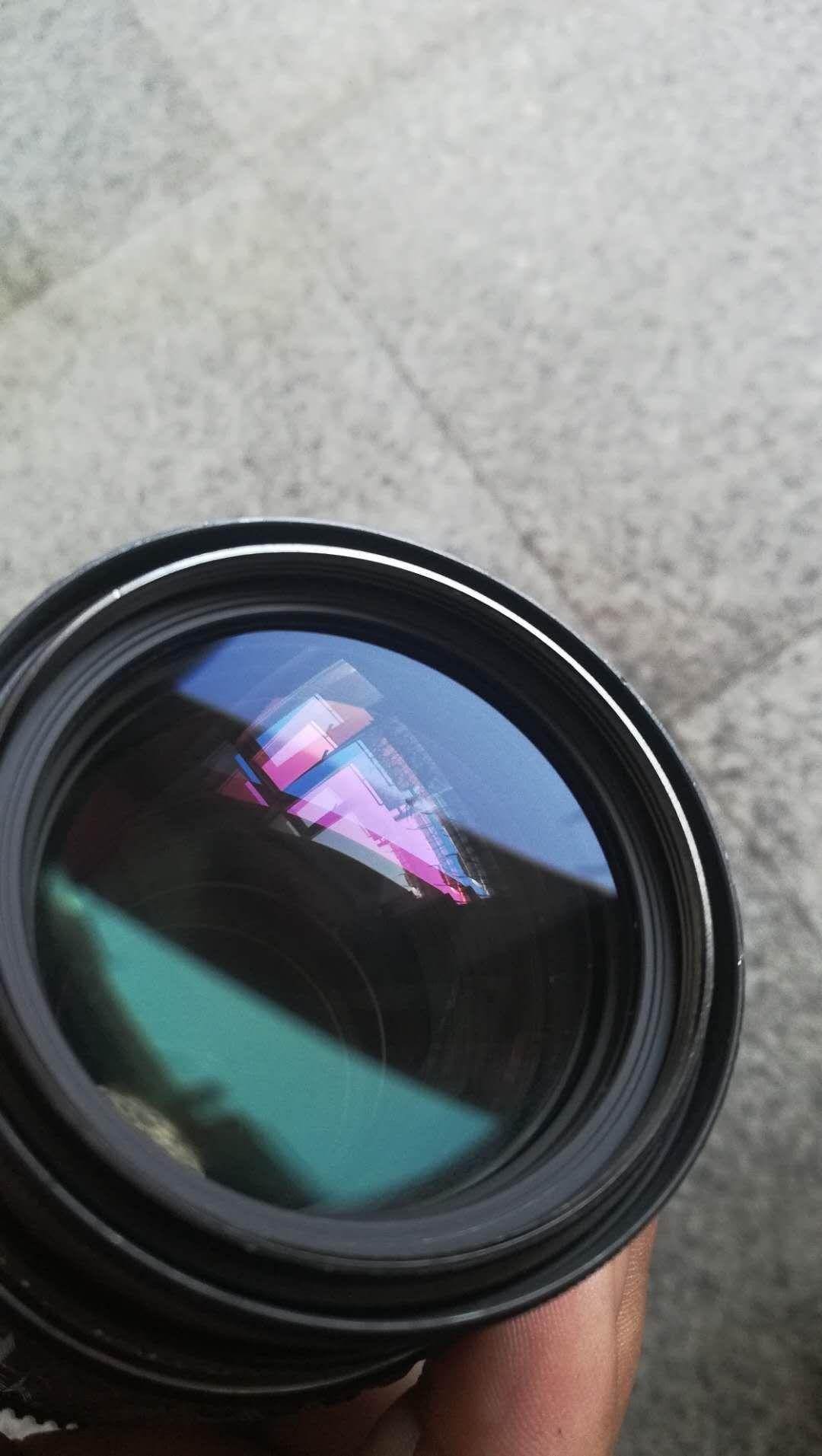 宾得Pentax 镜头 太苦玛SMC 75~150mm 手动牛头 自带遮光罩