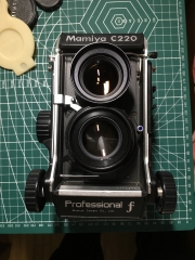 Mamiya/玛米亚 C220F中画幅 6X6胶片机
