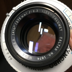 ILEX-CALUMUT 375mm f6.3 5号快门