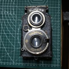 福伦达 SUPERB 双反相机 海利亚镜头