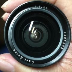 德产 禄来 QBM口 蔡司标 Distagon 25mm 2.8