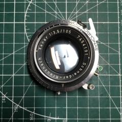 施耐德xenar 105mm f3.5