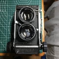 玛米亚C330带80mm f2.8