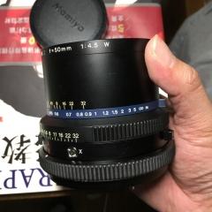 玛米亚RZ67 Z 50mm f4.5 w镜头