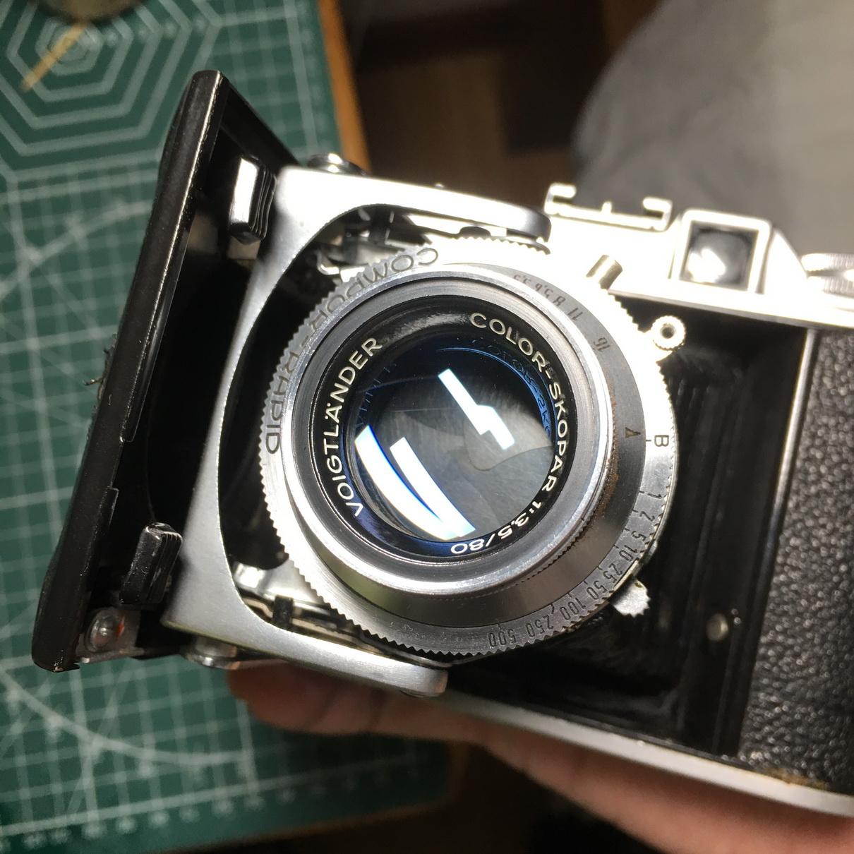 福伦达Voigtlander Perkeo II 6x6相机