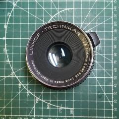 林哈夫linhof-technikar 95mm f3.5镜头改哈苏口