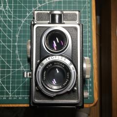 蔡司 zeiss ikoflex 1c 886/16 双反相机