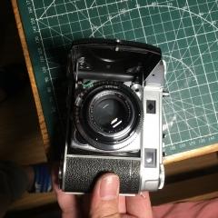 柯达Kodak Retina IIIc折叠相机    罗头